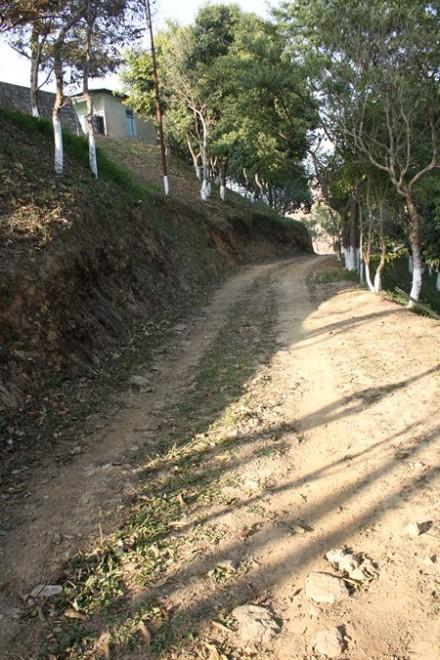 Empty road, Durtlang, Mizoram