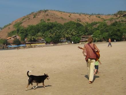 guitar, kudle beach, gokarna,karnataka