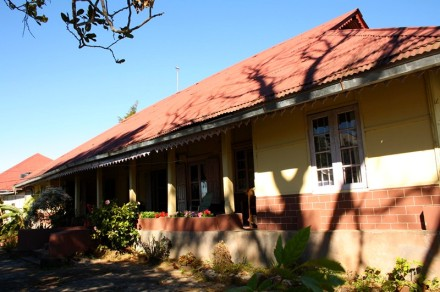 Former residence of Rev F.W. Savidge, Sap Upa, Serkawn, Lunglei