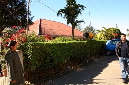 Former quarter of Pu Buanga, Serkawn, Lunglei