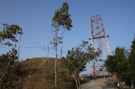 Towers and Antennas, MPRO, Durtlang, Mizoram