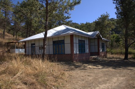 Forest rest house. Farpak, Phawngpui