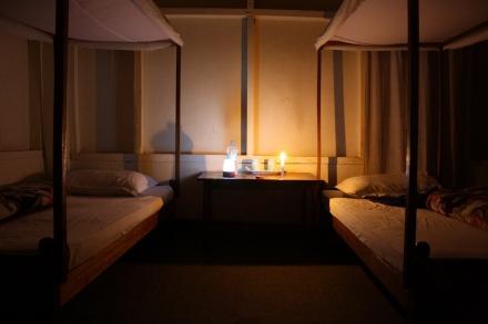 My room at tourist lodge, sangau