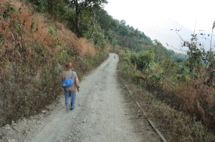 sangau-sentetfiang road, Mizoram