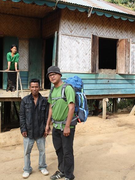 Lailai, my host at Lomasu