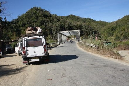 Tlawng bridge on World Bank road to Lunglei