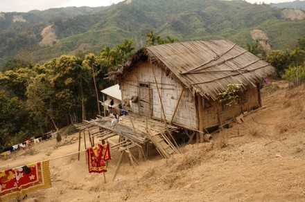 Bamboo hut, Longmasu
