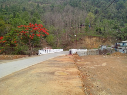 Falkland to Armed Veng road bridge