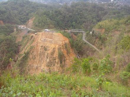 Quarry, Chite bridge on World Bank road