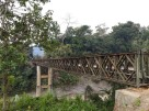 Bailey bridge over Teirei river on Bairabi road, Mizoram