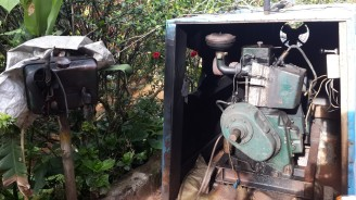 The very loud generator,Ganesh Estate Homestay, Madikeri