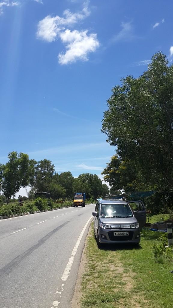 Mysore-Hunsur, road
