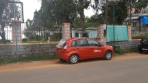Raja's seat, Madikeri . Too many Zoom Car these days.
